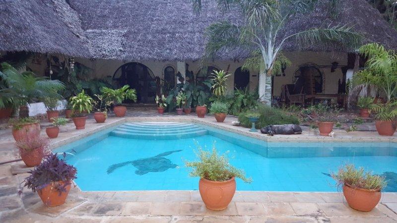Bonita villa con piscina