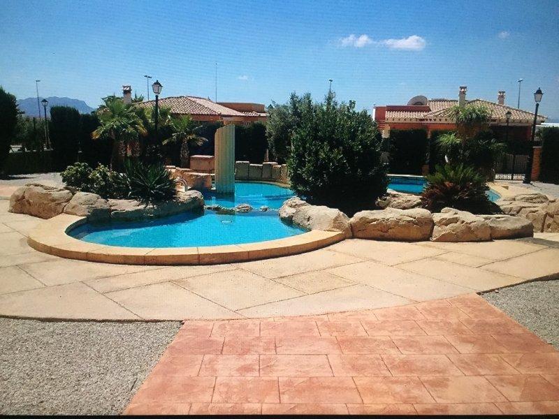 Villa  4 chambres, 2 Salles de bain, casa vacanza a Villanueva de Rio Segura