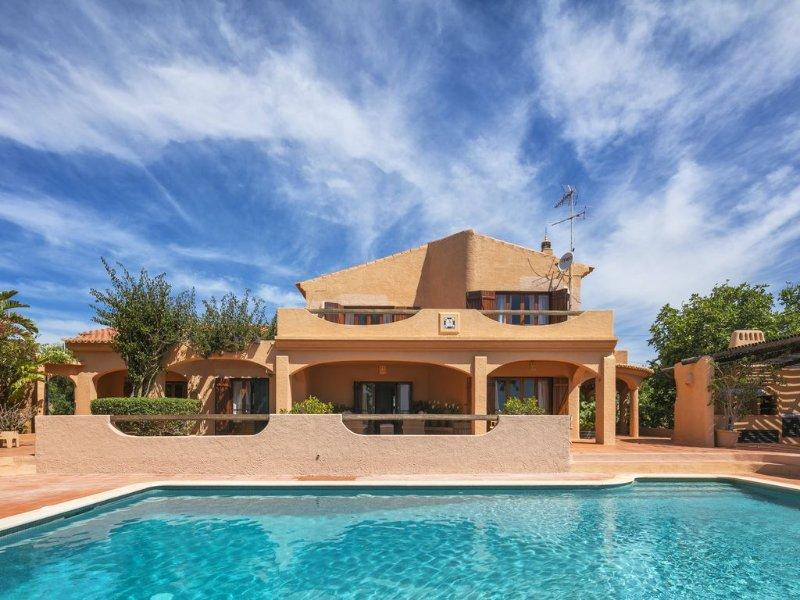 Villa Monte Novo - Comfortable villa with private pool near the beach, holiday rental in Benagil