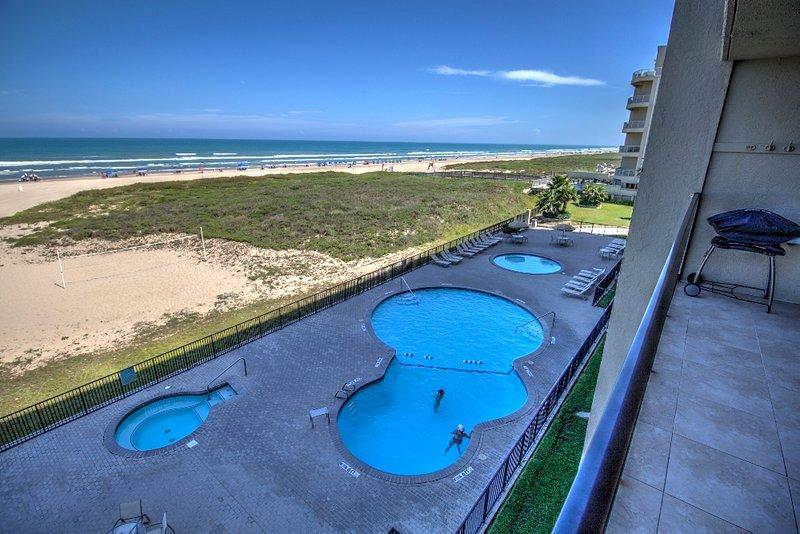 Balcone privato fronte spiaggia