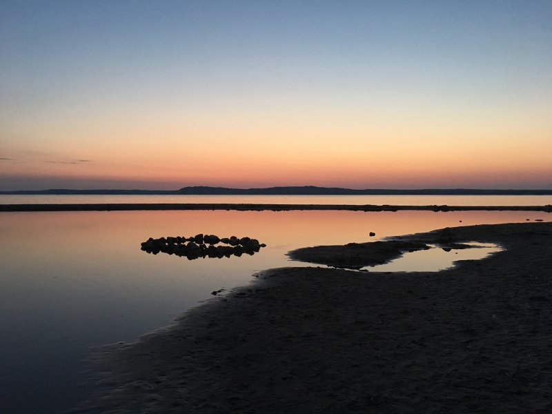 Sun rise east bay