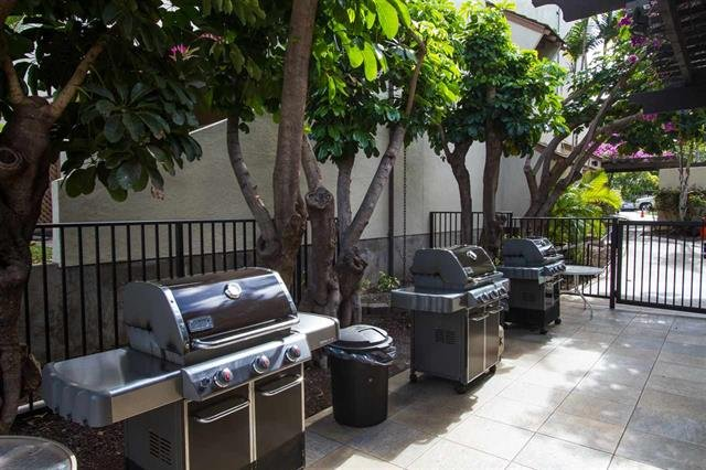BBQ's for each unit complex and additional ones at the pool for all guests and owners