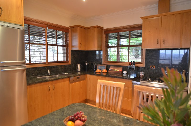 Full-size fully equipped kitchen