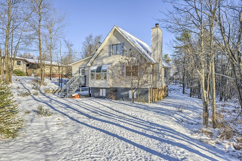 This is the perfect ski retreat!