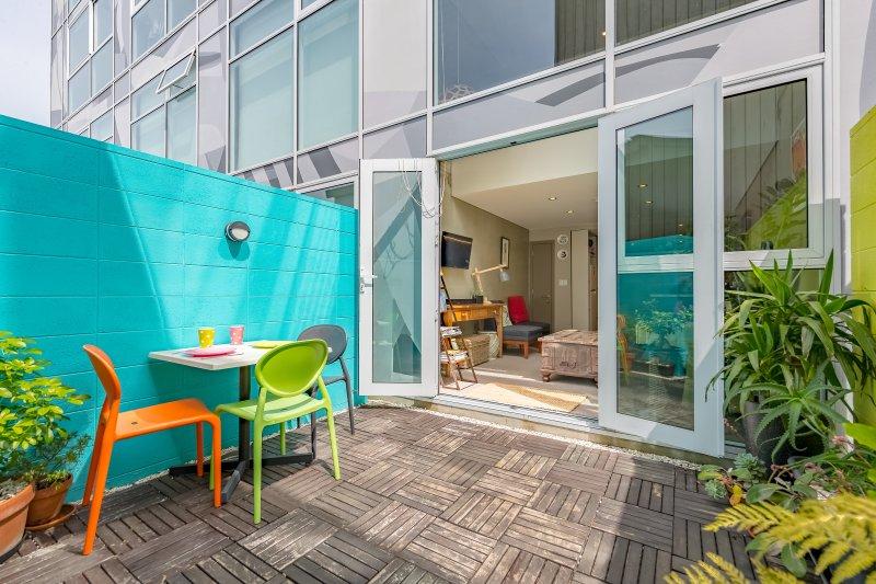 patio privado