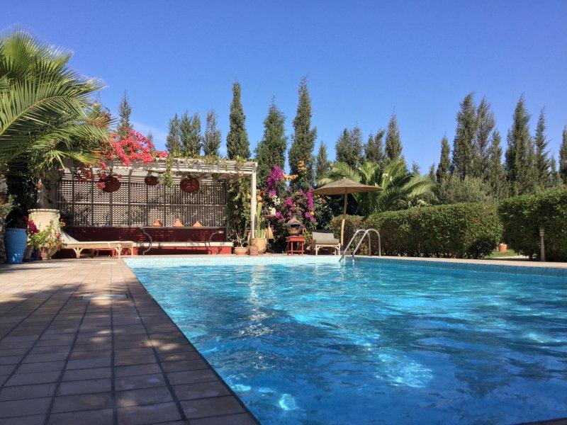 Villa de charme avec piscine privée et cuisinière, location de vacances à Essaouira