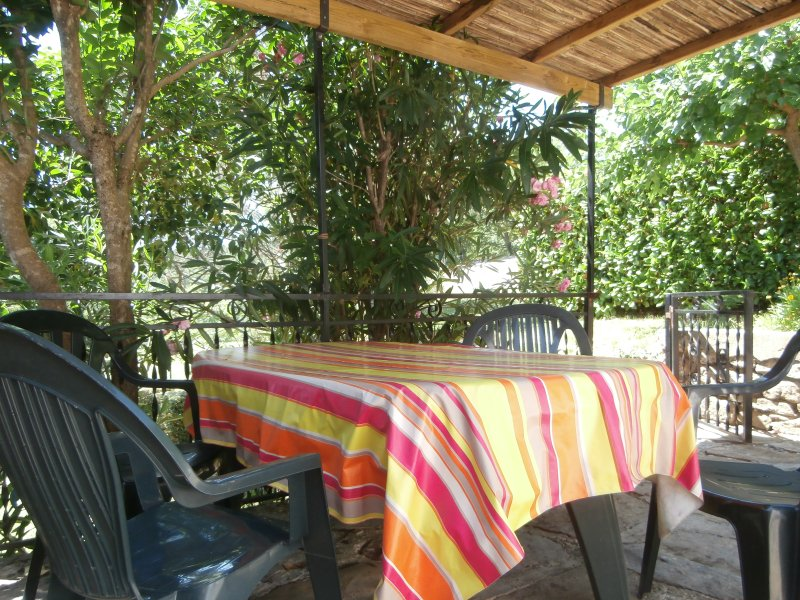 Terrace with garden furniture and barbecu 30m2 covered about 15 m2
