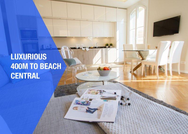 Arredate con gusto, questo moderno appartamento incredibilmente confortevole, con un sacco di tocchi.