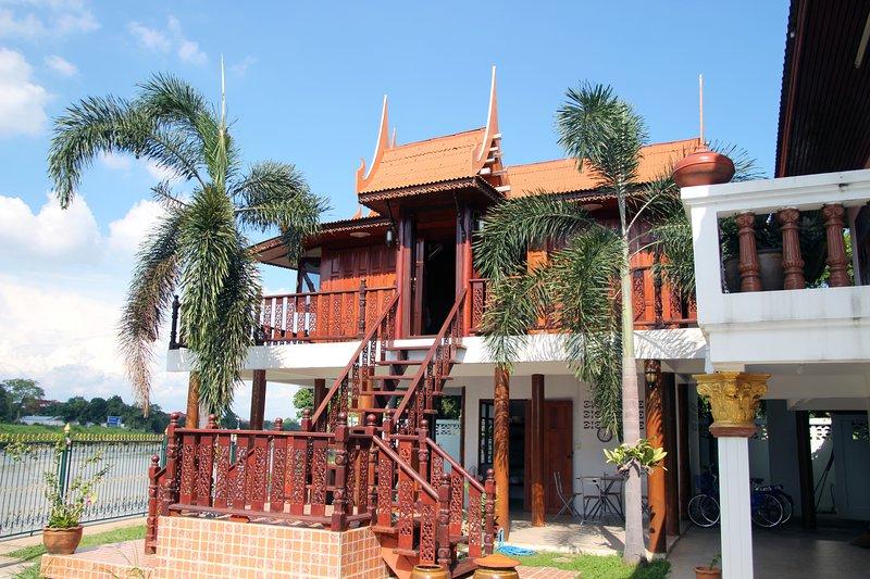 River Breeze Guest House Ayutthaya, Ferienwohnung in Ayutthaya