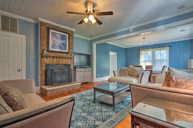 Passo para trás no tempo no 'Starfish House,' um histórico Henry Ford casa de férias construída na década de 1940.