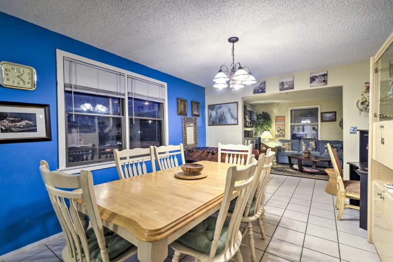 This vacation rental home has everything you need for a delightful getaway!