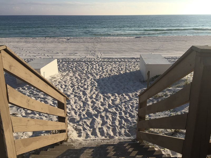beach access from the property boardwalk