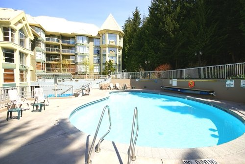 Enjoy the Pool and Hot Tub Area All Year Round