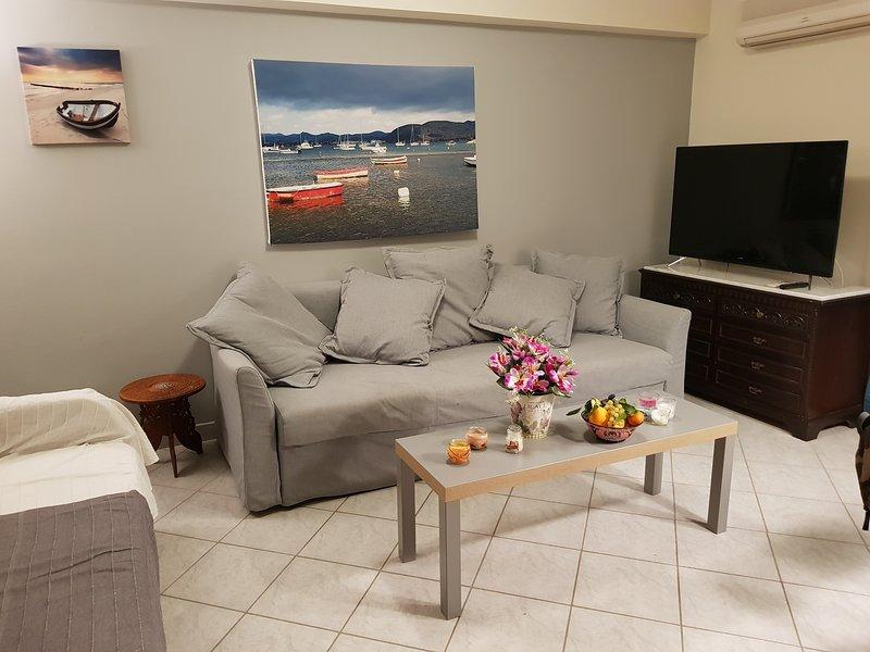 Sounio Palea Heaven beach holiday rental apartment, holiday rental in Palaia Fokaia