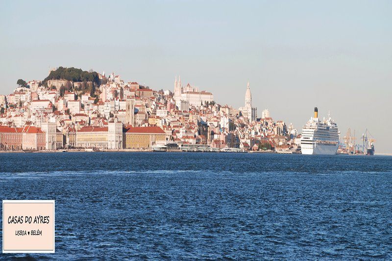 Lisbon seen from the Tagus River