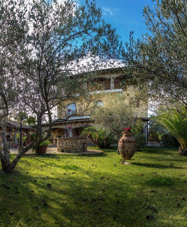 Villa, con vistas al jardín