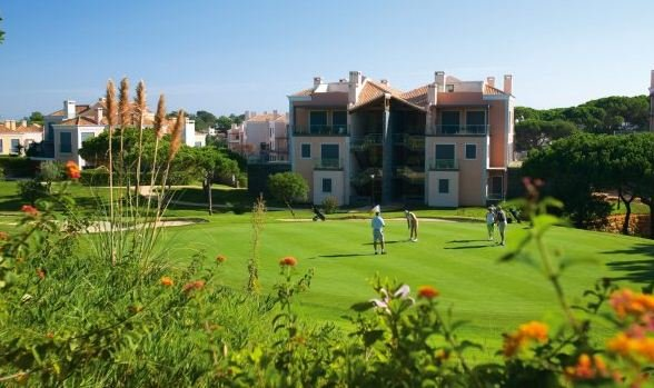 Stunning views over the royal course at Vale do Lobo