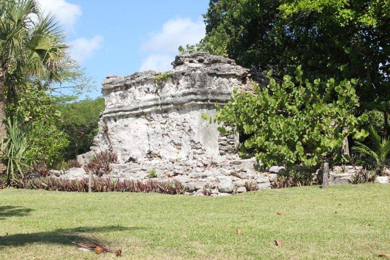 Playacar tiene una serie de pequeñas ruinas mayas - éste está a unos 5 minutos a pie de la casa.