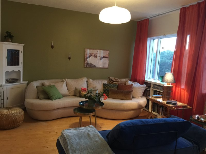 A bright and beautiful flat for two in the heart of Reykjavík, vacation rental in Seltjarnarnes