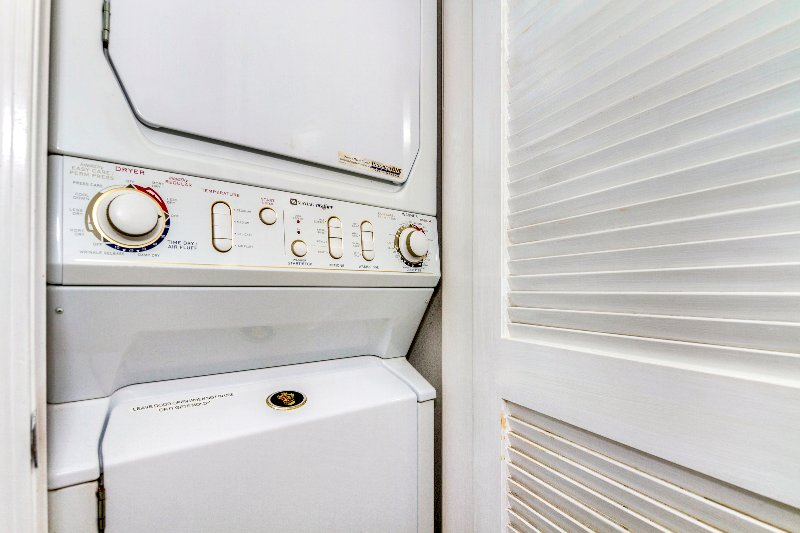 Full Size Washer and Dryer Stacked