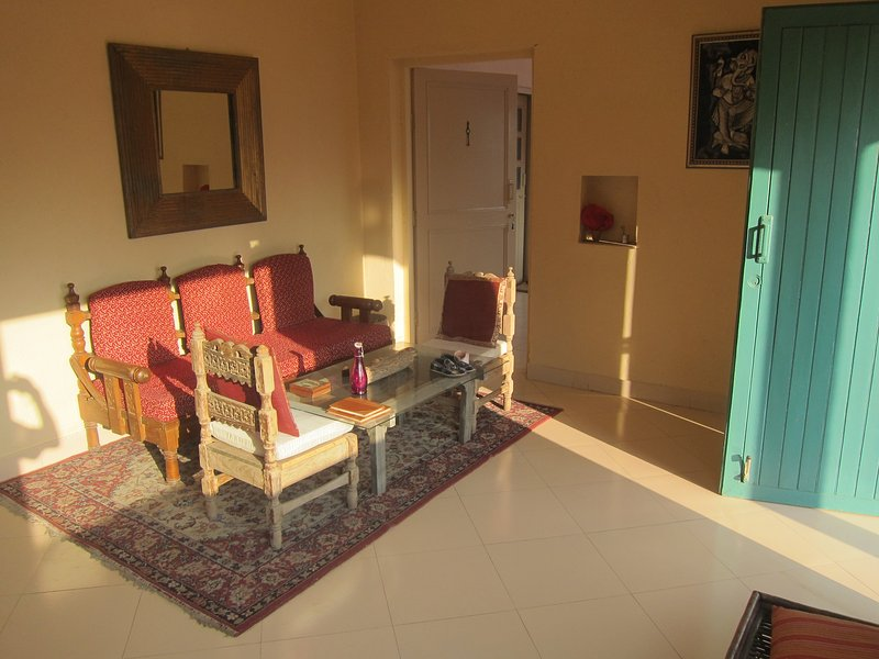 Holiday home in Rajashtan with lovely view to wild life...., holiday rental in Alwar