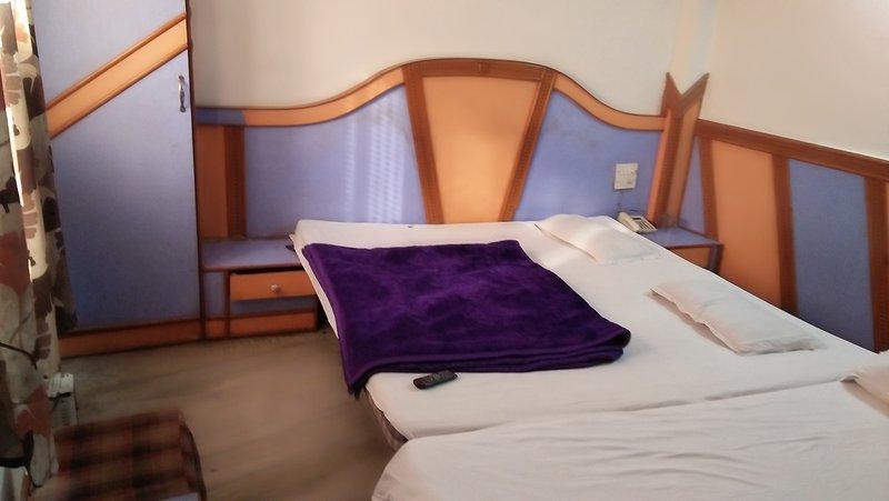 Les chambres triples avec balcon