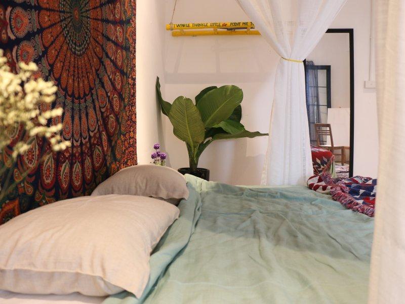 Bohemieng Schlafzimmer