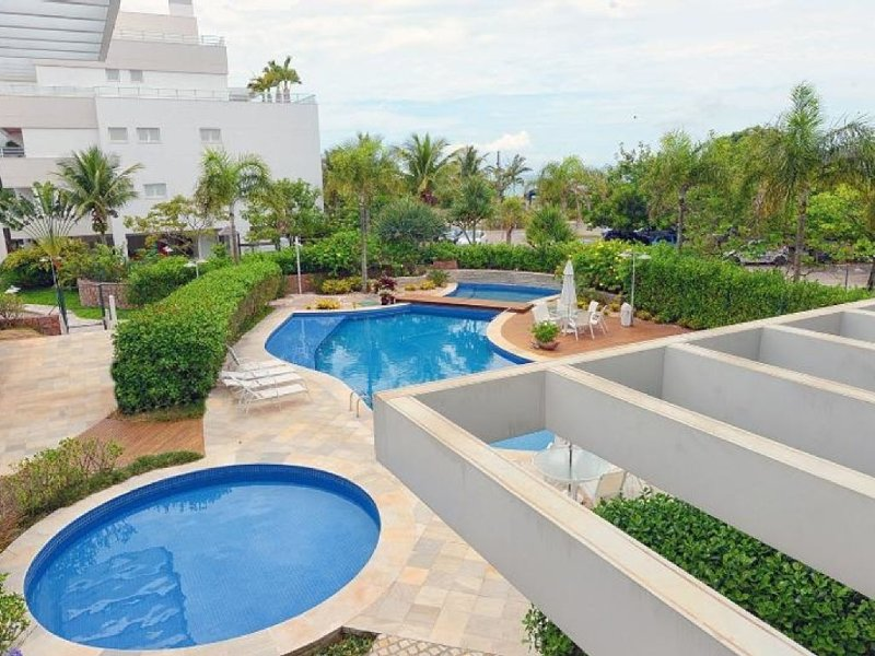 View from the apartment - adult and children pools
