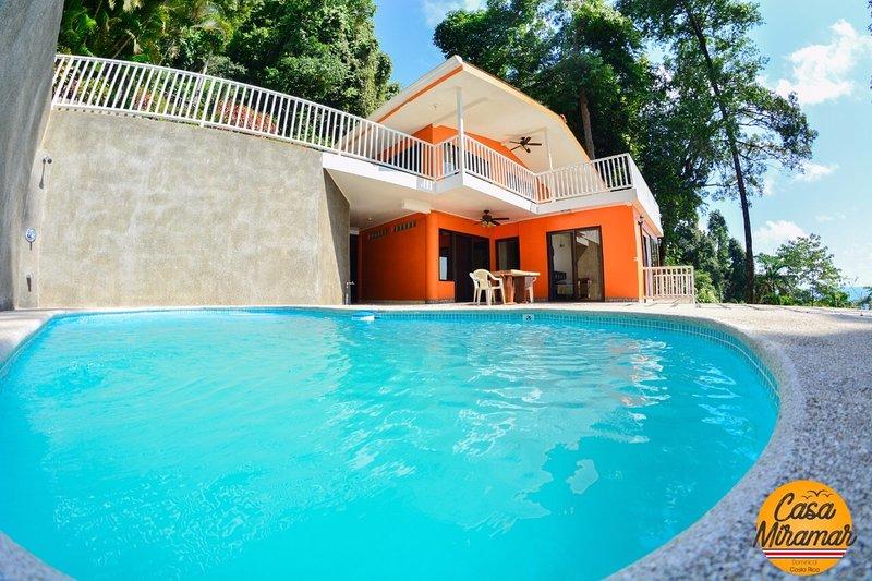 Casa Mira Mar-Ocean View, 200 meters to ocean, vacation rental in Dominical