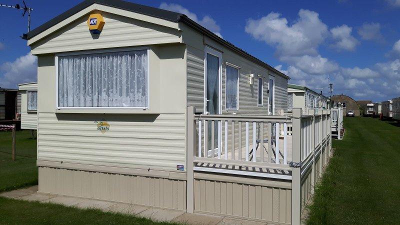6 berth silver beach Ingoldmells, aluguéis de temporada em Skegness