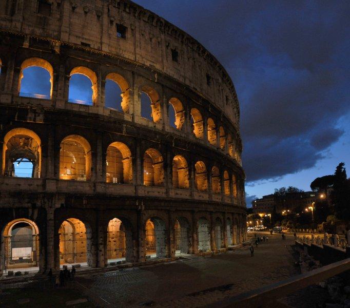 Coliseu e Fórum