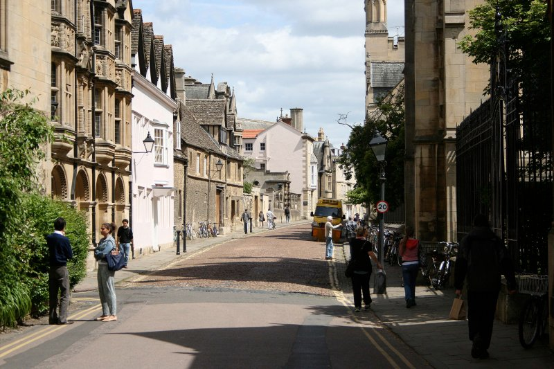 Old town Oxford