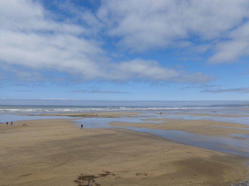 Journée à la plage, Westward Ho!
