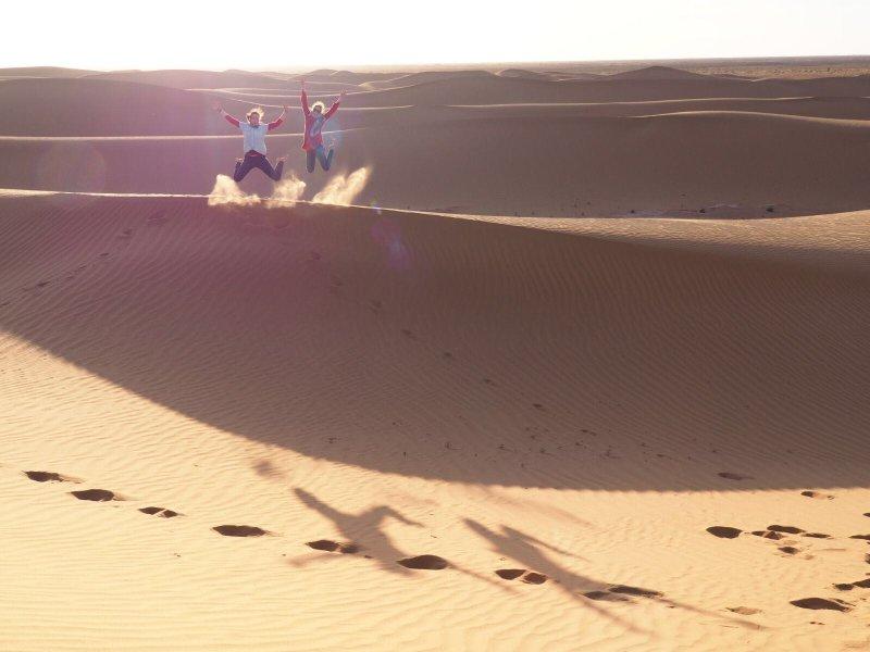 Doe mee en ervaar de charme van de Sahara woestijn