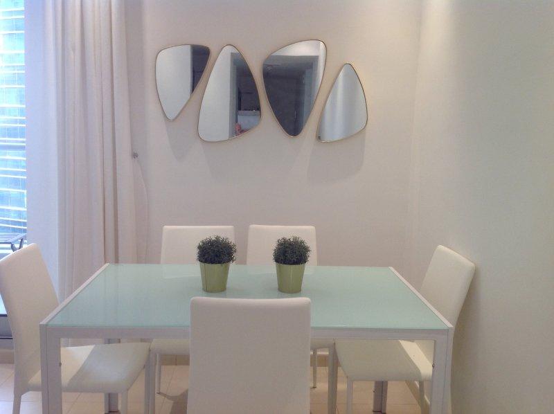 mesa de jantar formal