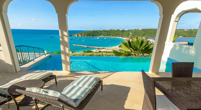 Pinnacle Villa - 3 bd luxury, best view and excellent support from owners, vacation rental in Little Harbour