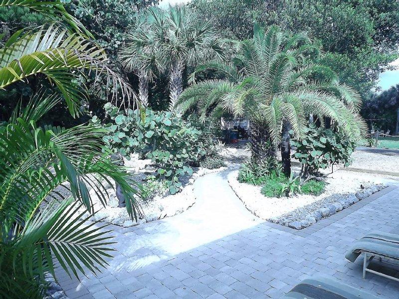 Lussureggiante paesaggio tropicale