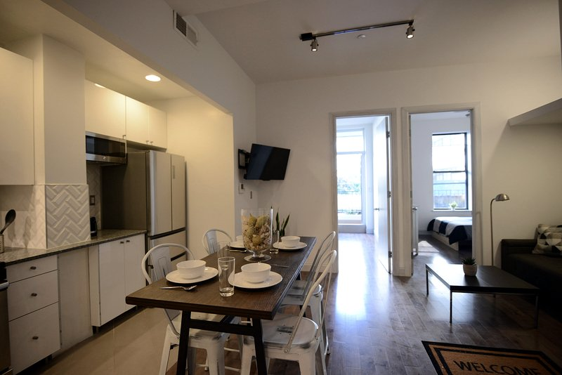 Harlem Luxury Condo.  All New.  2 full bedrooms with large balcony., vakantiewoning in New York