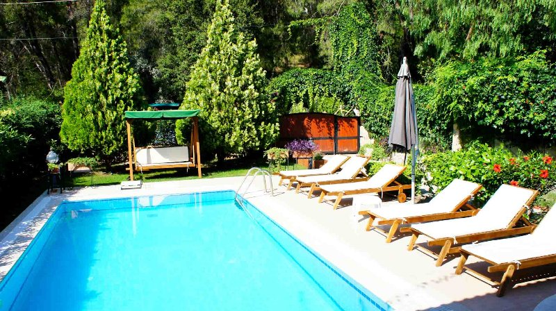 Villa with private swimming pool by the forest, vacation rental in Gocek