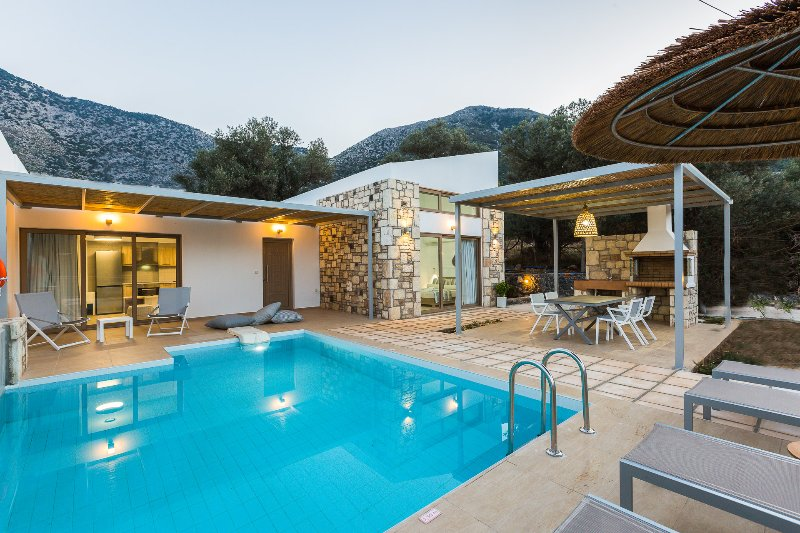 Villa Lemoni is a luxurious, brand-new villa, carefully decorated with modern style!
