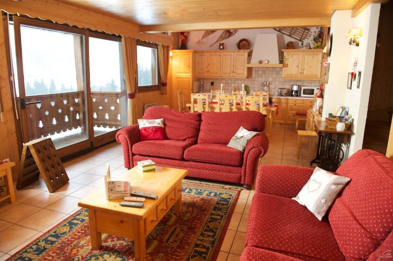 chalets has been recently decorated with new table....you will se new pictures in this slide