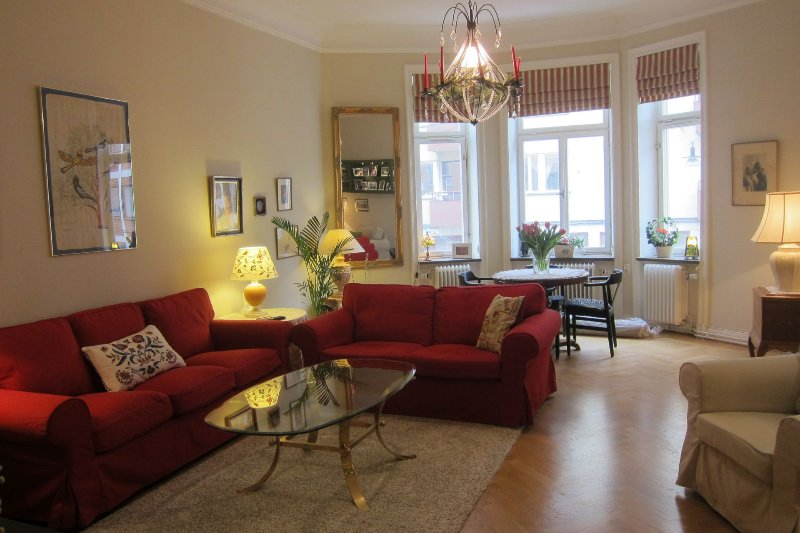 ÖSTERMALM - PROMINENT RESIDENCE, holiday rental in Stockholm
