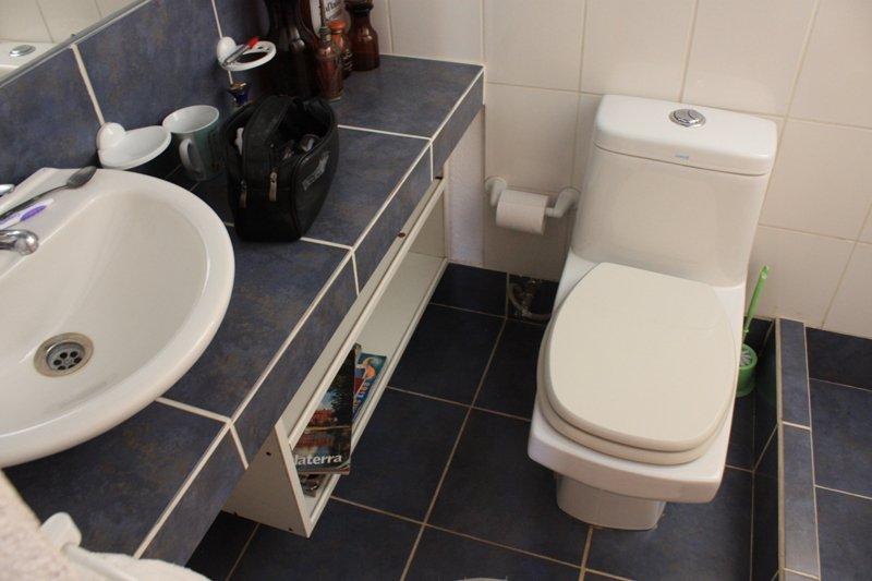 Casa de banho (ambos os banheiros são os mesmos e são en suite com quarto.).