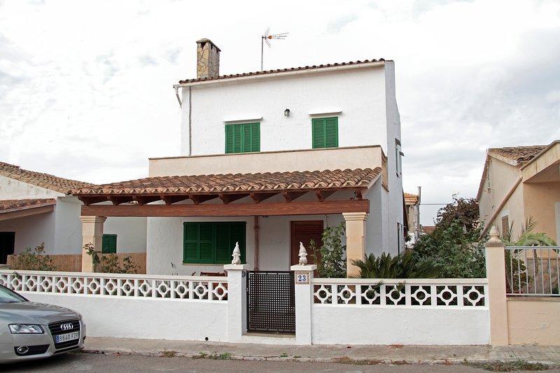Casa Amador Playa, location de vacances à Sa Rapita