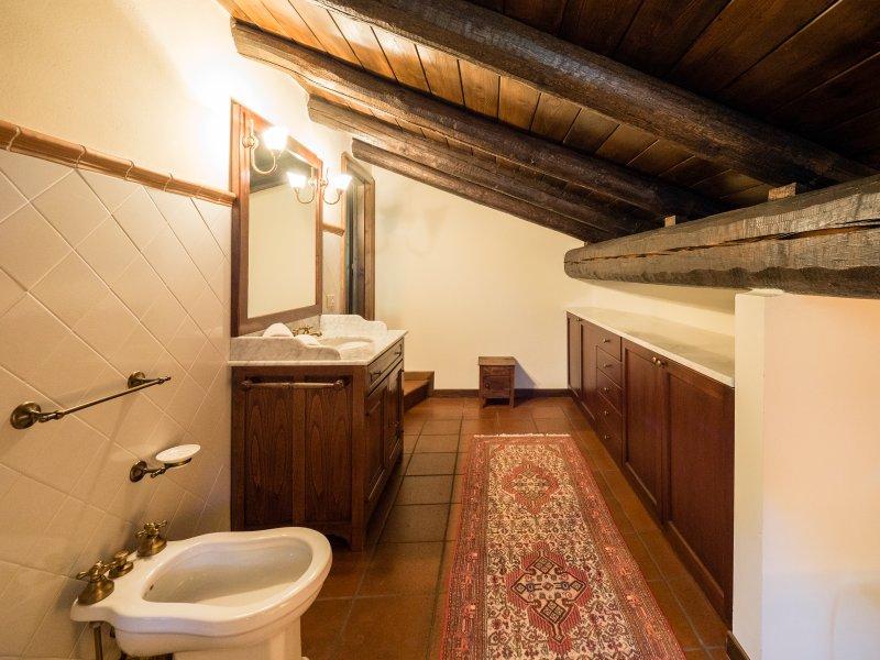 Badkamer op de mezzanine