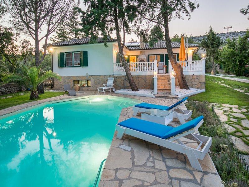 Villa Euphoria, location de vacances à Skala Panagia