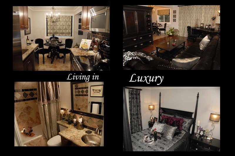 Stay with us and you will felling like your 'Living in Luxury'