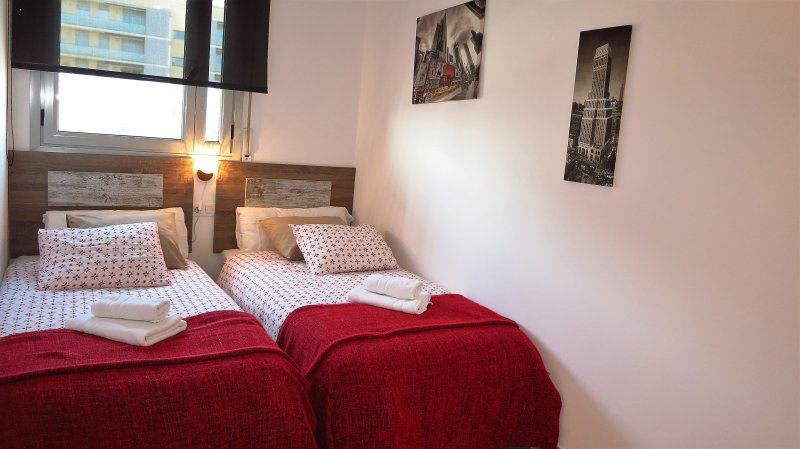 """""""El dormitorio II"""": 2 camas individuales, armario."""