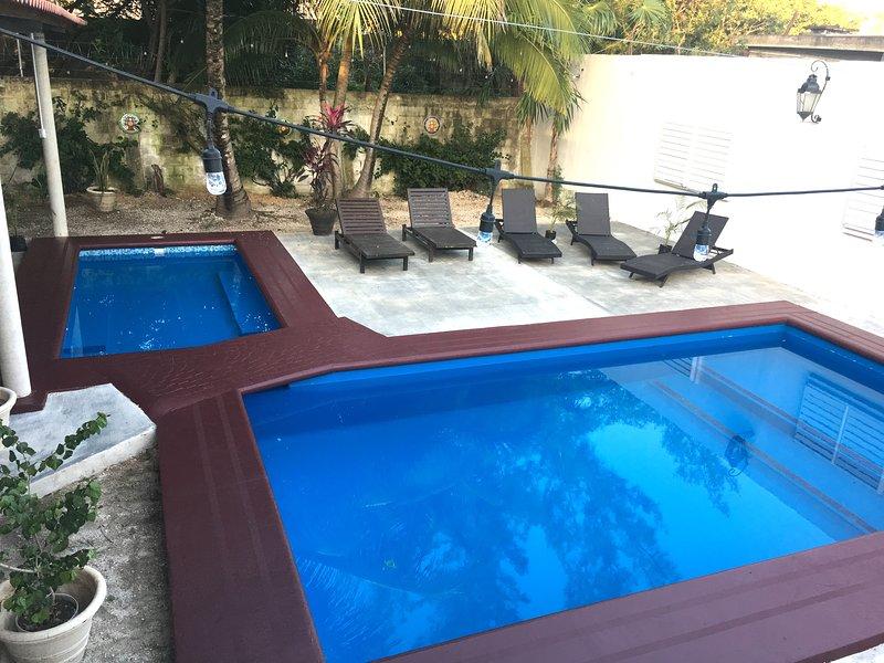 2 piscinas