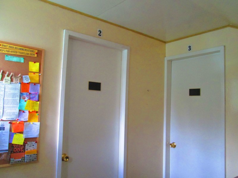 Rooms 2 and 3, each can accommodate 2 guests.